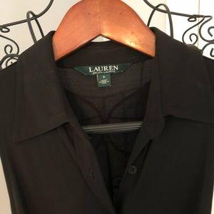 Ralph Lauren flare leg one piece pant suit